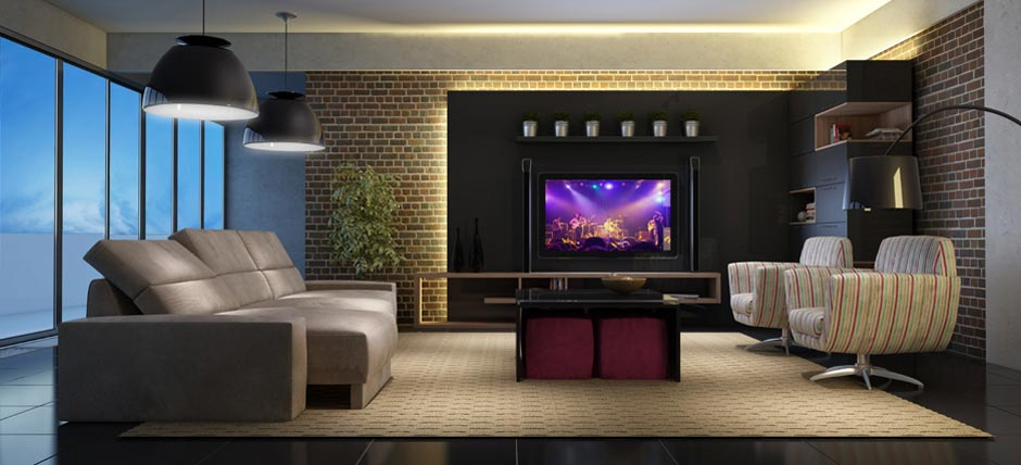 Home theaters - Sala home theatre ...